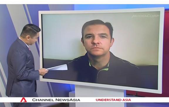 Stuart Interviewed by Channel NewsAsia | Stuart McPhee – Australian